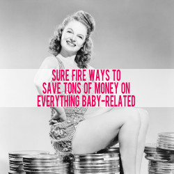 How to Spend and Save Wisely During Pregnancy and Your Baby's First Year | AndThenWeSaved.com