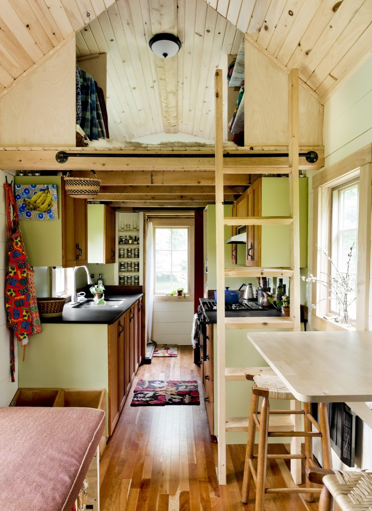 Living tiny ethan 39 s tiny vermont abode home tour and for How much for a small house