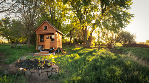 Living Tiny: Tammy's Northern California Home - And The We Saved