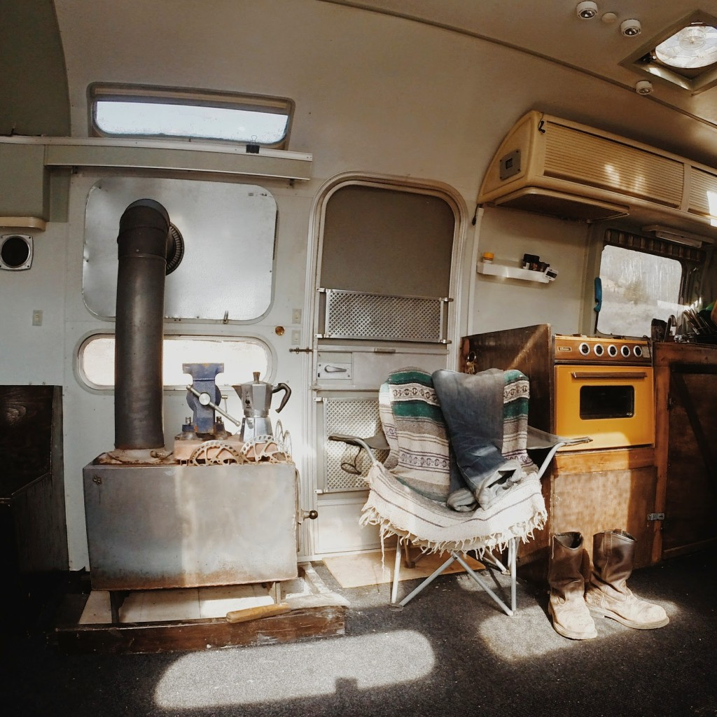 living tiny bama 39 s unconventional airstream and then we saved. Black Bedroom Furniture Sets. Home Design Ideas