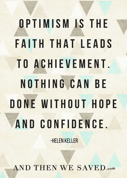 Hope and Confidence