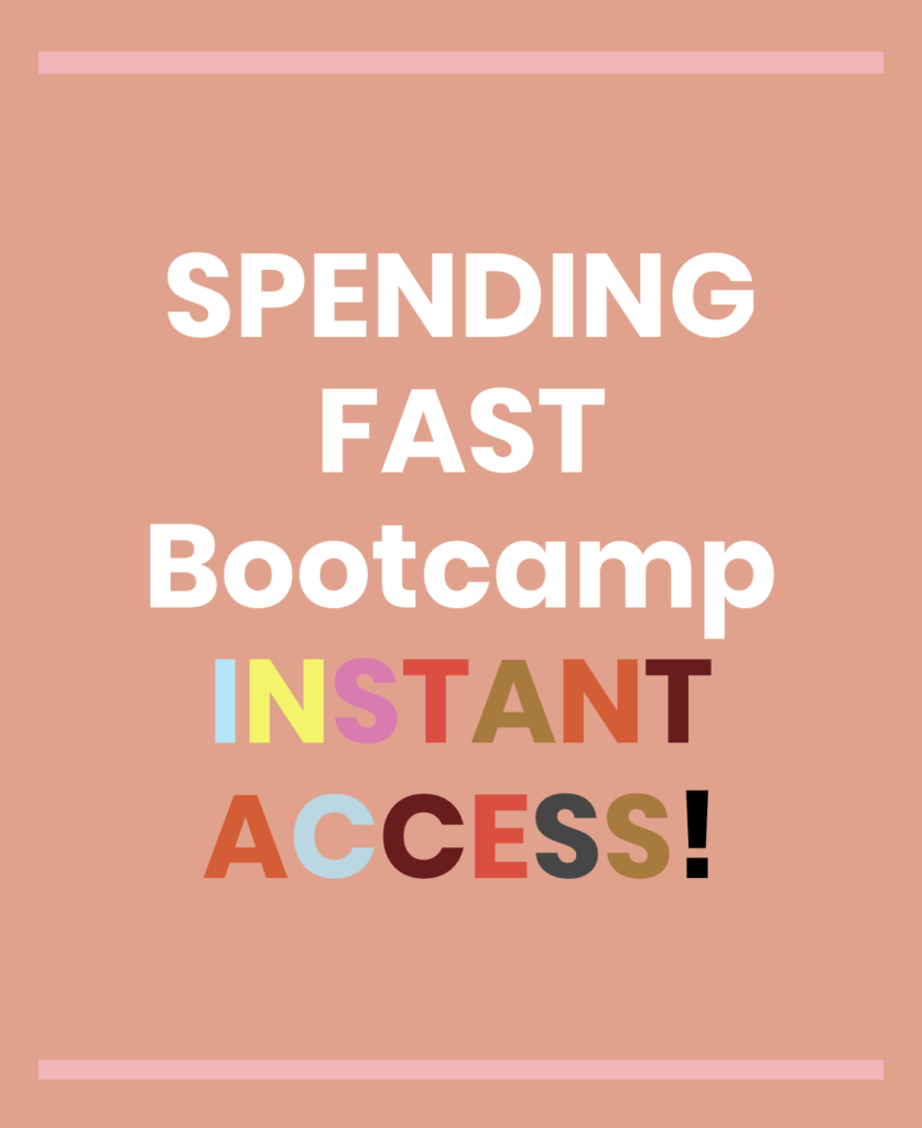 spending fast bootcamp debt calculator