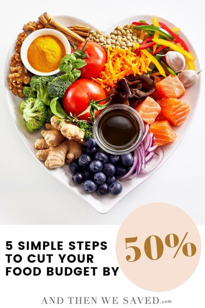 Simple Steps To Cut Your Food Budget by 50%