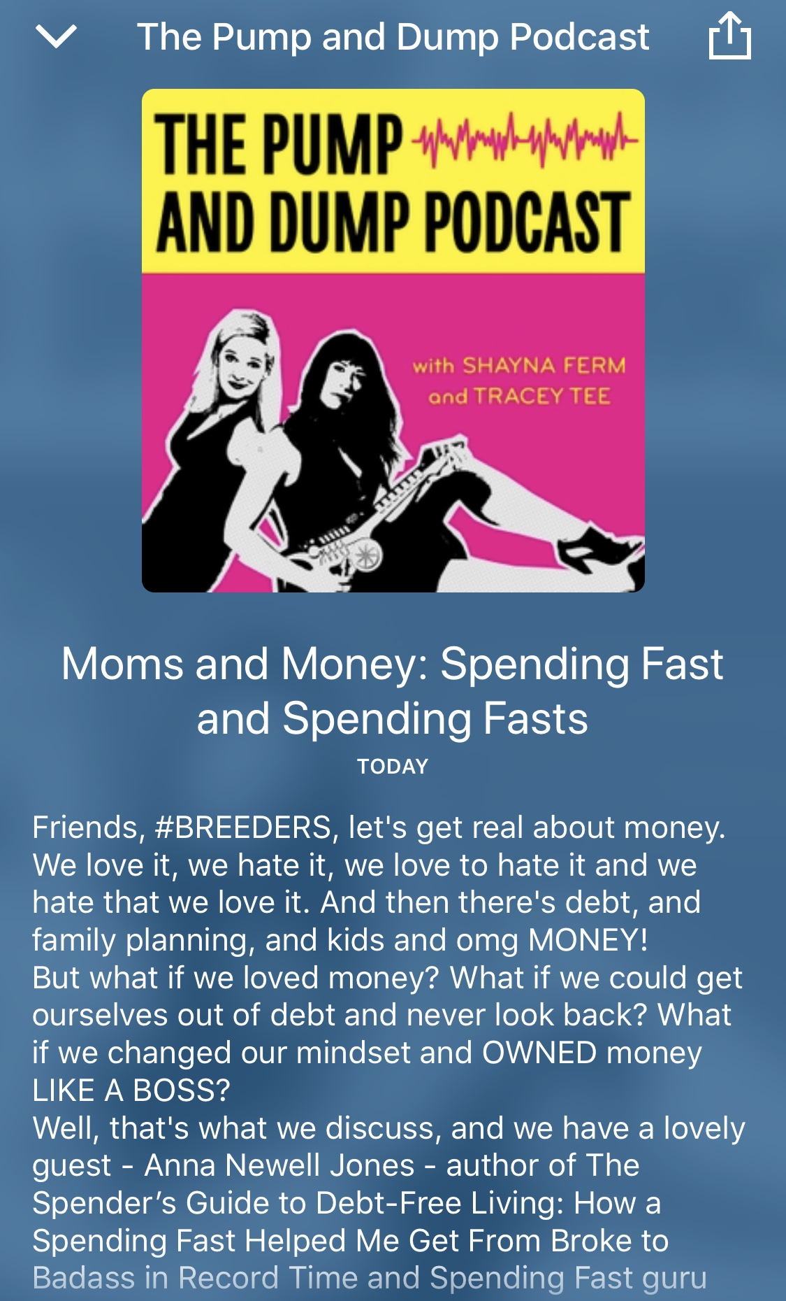 Pump and Dump Podcast: Moms and Money Spending Fast and Spending Fasts
