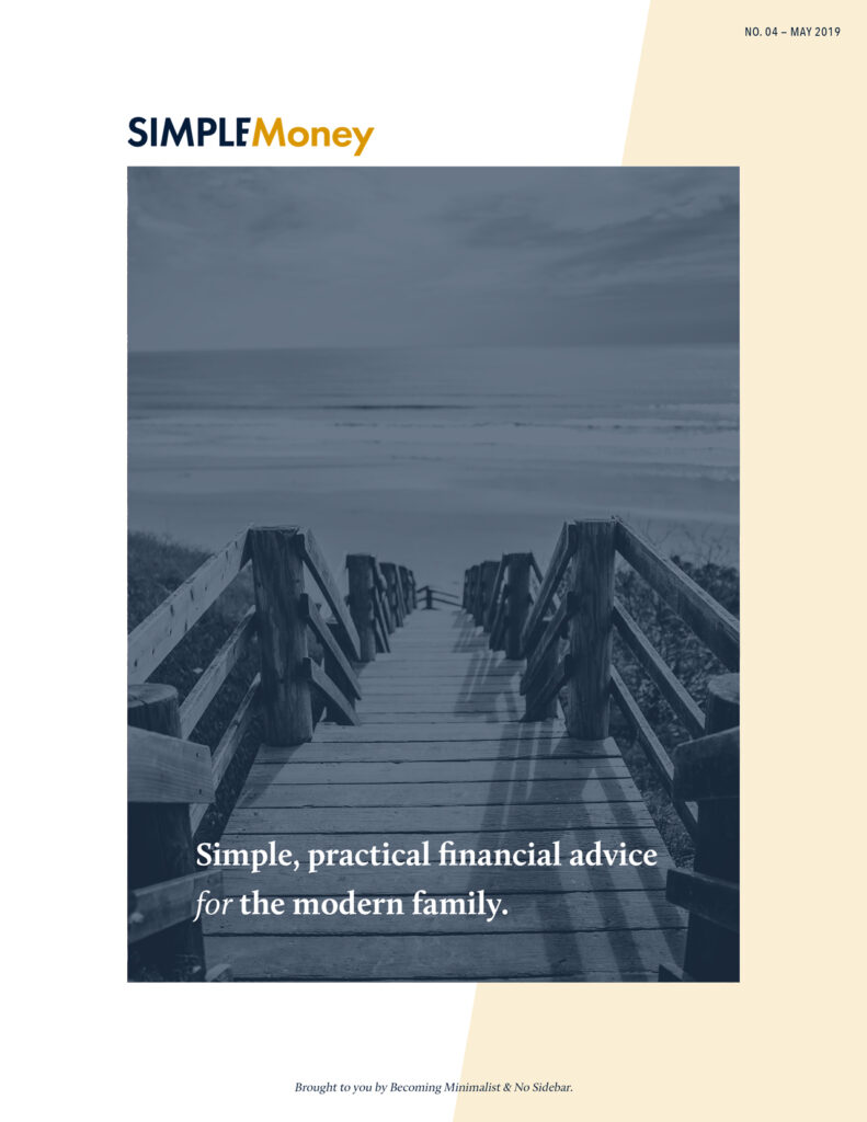 Simple Money Magazine No. O4 - Spending Diet