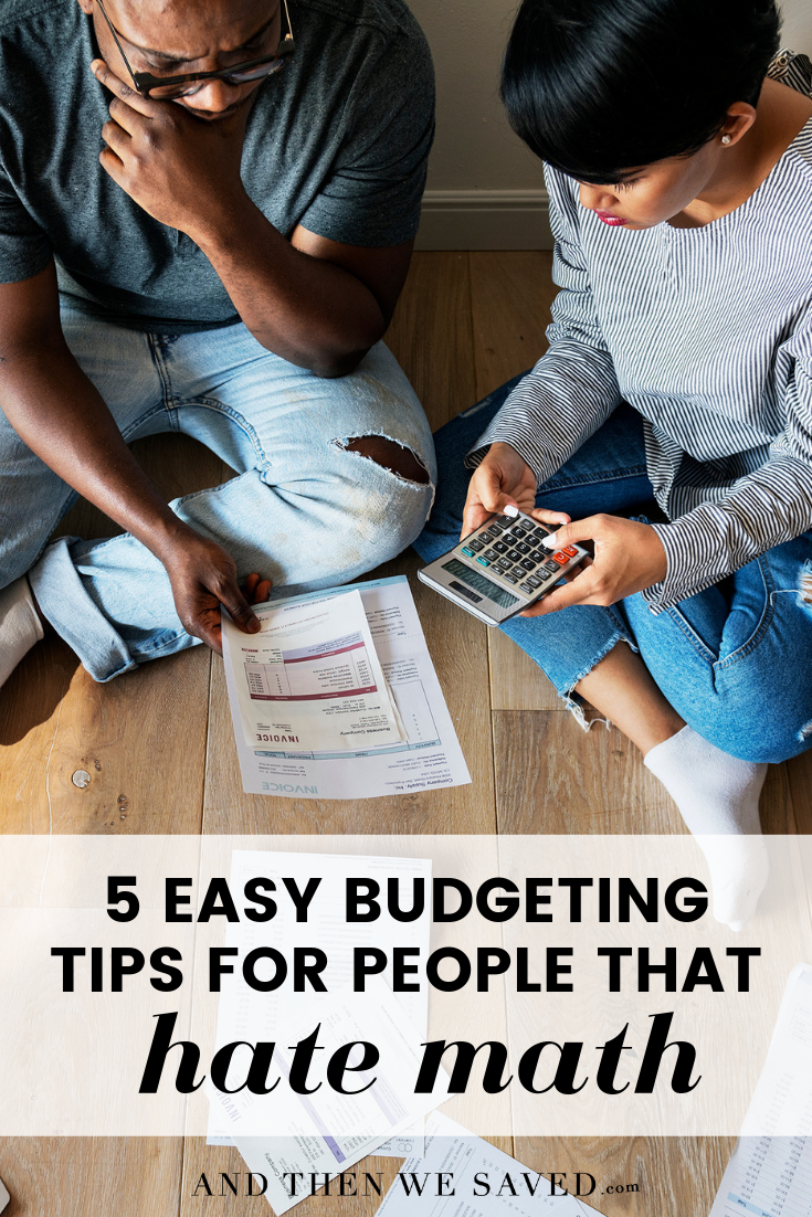 easy budget tips