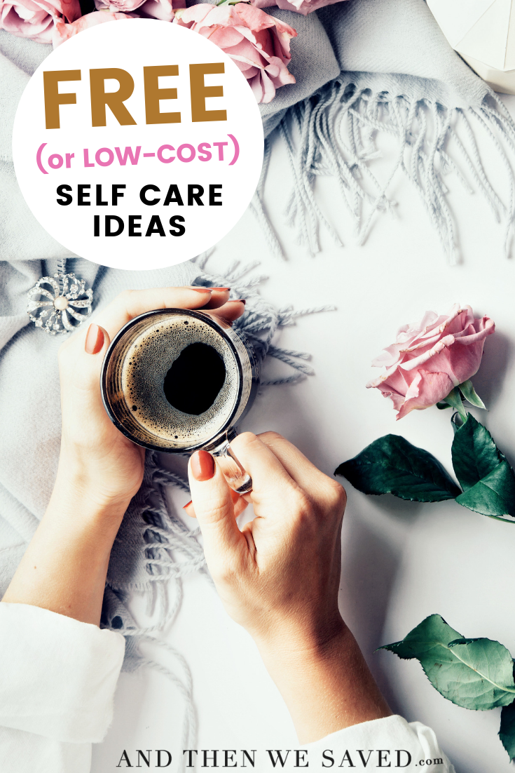 free and low cost self care ideas