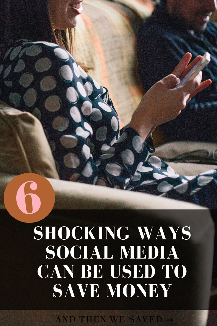 6 shocking ways social media can be used to save money