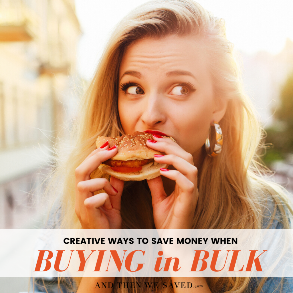 Creative Ways to Save Money With Bulk Buying