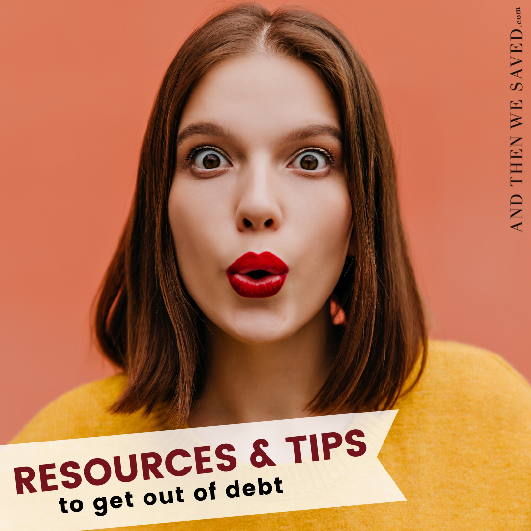 Resources and Tips to Get Out of Debt with a Spending Fast