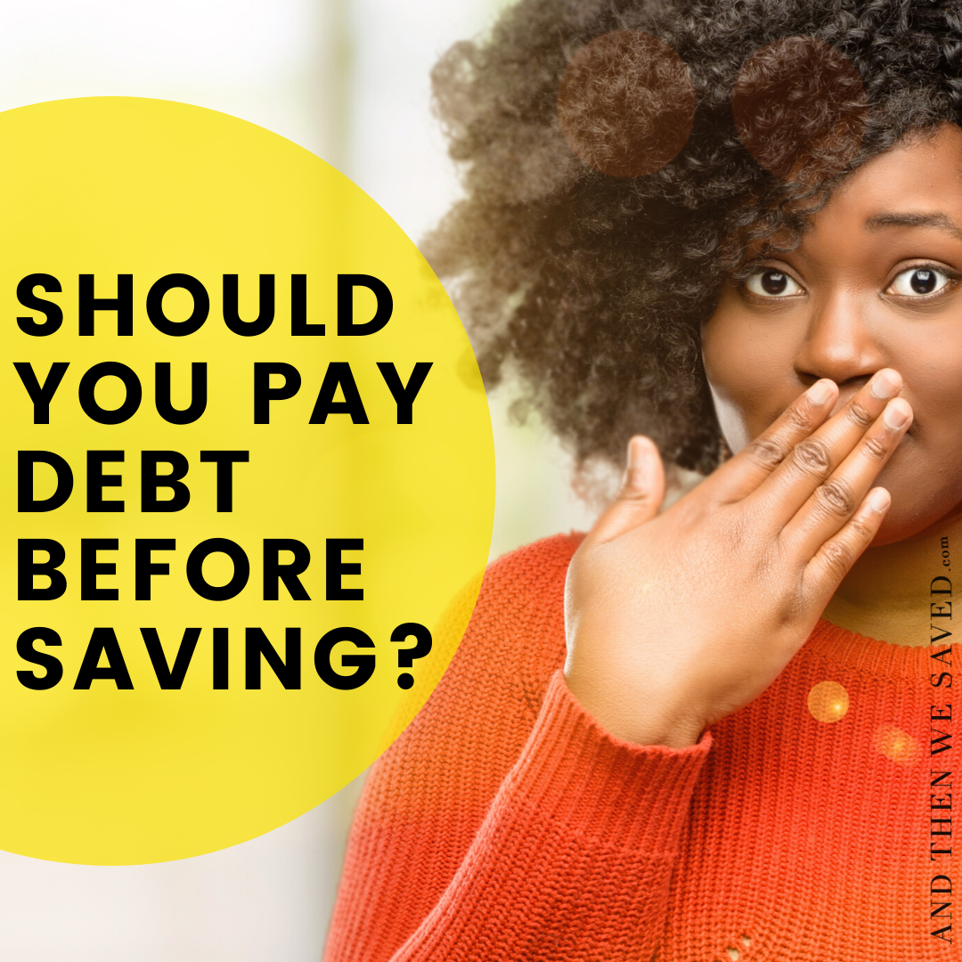 How Much Should I Save While Paying Off my Debt?