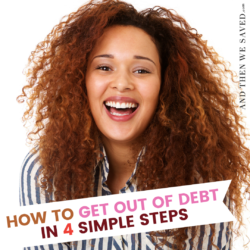 Get Out of Debt Fast Using These Four Easy Steps