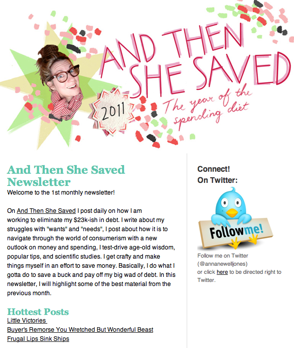 and then she saved blog 2011