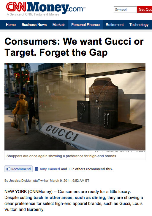 gucci or target